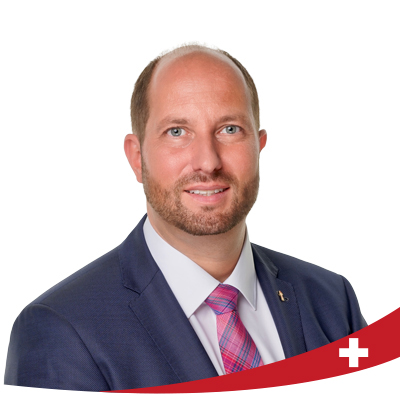 Dominik Straumann in den Nationalrat